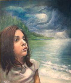 Aspettando il sereno  #painting #oiloncanvas #art #modernart #artgallery #mylove #mysweety #icoloridirosa