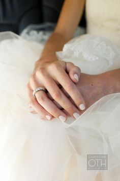 3 Perfect Wedding Day Nail Styles for Every Bride - Wedding Party - bring light pink polish to apply day before