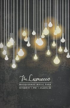 The Lumineers Poster. thesearethingsbykody.:
