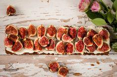 Tarta z mascarpone i świeżymi figami Fresh fig and mascarpone tart polzarciempolserio.pl
