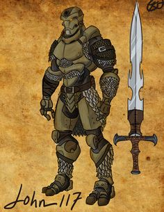 John-117 The Warforged by deadpooleyo