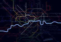 old tube map - Google Search