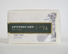 Bar Soap-Rose Garden No.74 – PURE HOME COUTURE APOTHECARY
