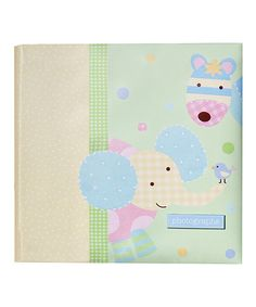 Take a look at this Green Elephant & Bird Photo Album by pepper pot on #zulily today!