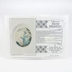 The world knows of and loves Jane Austen -England'sgreatest female novelist, but it is the personality of Jane herself which this unique kit sets out to