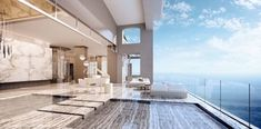 Mansions at Acqualina is a luxury condo in Sunny Isles Beach. Enjoy the breeze that comes from the white-sand beach as you relax in your Acqualina Mansion.