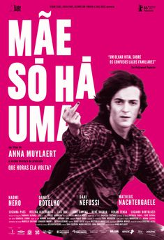 Brazilian poster for DON'T CALL ME SON (Anna Muylaert, Brazil, 2016)  Designer: TBD  Poster source: Zeitgeist Films  DON'T CALL ME SON opens at Film Forum in New York tomorrow, November 2.