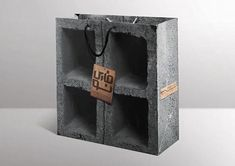 Shopping Bag Design, Shopping Bags, Paper Bag Design, Bottle Opener, Concrete, Advertising, Packaging, Creative, Inspiration