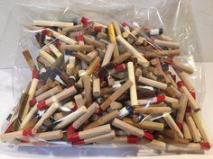 Hashi Block Chopsticks Craft Mottainai Block Wood Kids Handicraft Hobby Japan #Unbranded