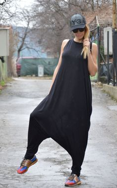 NEW Collection Women Black Jumpsuit / Extravagant by SSDfashion