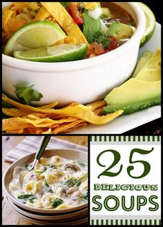 25 soup recipes for the winter!
