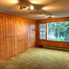 You might want to rethink your gross carpet floor when you see what this homeowner did for less than $100!