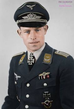 Heinrich Ehrler (14 September 1917 – 4 April 1945) was a German Luftwaffe military aviator during World War II, a fighter ace credited with 208 enemy aircraft shot down in over 400 combat missions. which included eight in the Messerschmitt Me 262 jet fighter.