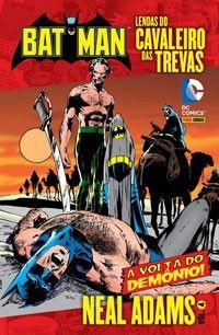 LIGA HQ - COMIC SHOP LENDAS DO CAVALEIRO DAS TREVAS POR NEAL ADAMS #4 PARA OS NOSSOS HERÓIS NÃO HÁ DISTÂNCIA!!!