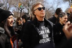 """Reposting Paul McCartney Remembers John Lennon at March for Our Lives in New York """"One of my best friends was killed in gun violence right around here, so it's important to me,"""" Beatles legend says of John Lennon --- Paul Mccartney Beatles, John Lennon Beatles, Beatles Band, The Magical Mystery Tour, Nyc March, February 14, The Ed Sullivan Show, Shows In Nyc, March For Our Lives"""