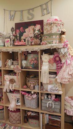 Vintage Heart Love's craftroom