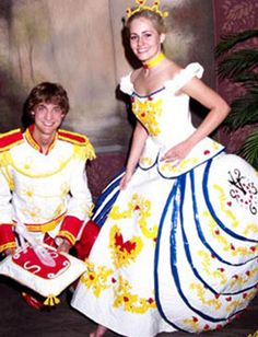 If Justin and I ever go to prom together again.. these would be our outfits are made from duck tape!