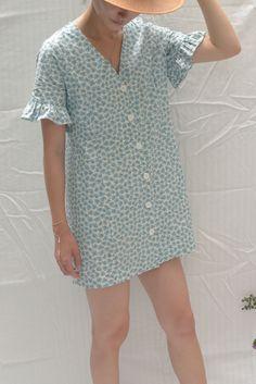 2bb533c505d Sofia Mini Dress - Blue Daisy