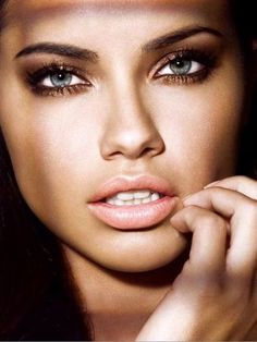 Adriana Lima...love her sexy face #ad