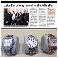 Check out this great story in The Oakland Press about Lucido's local community efforts! #lucido #jewelry #oaklandpress #rochester #sterlingheights #michigan