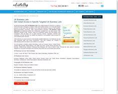 UK business mailing addresses from eListsOrg http://www.elistsorg.com/uk-business-email-lists.php