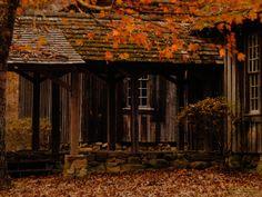 Possum Trot, the original schoolhouse at Berry College