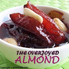 Damson Jam With Almond. Wonderful jam with damson plum and almonds. Plum Jam Recipes, Tart Recipes, Best Dessert Recipes, Holiday Recipes, Dessert Ideas, Damson Jam, Plum Preserves, Romantic Dinner For Two, Romantic Dinners