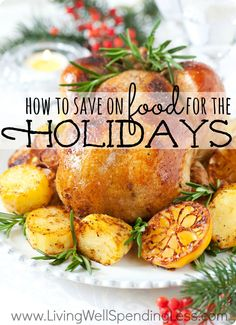 Need help keeping your Thanksgiving & Christmas spending in check this year?  Don't miss these awesome tips (& great video) for how to plan your holiday menus & shopping list.  This post can seriously help cut your holiday food bill in half.  A must read!