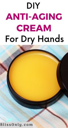 Healthy Beauty, Health And Beauty, Dry Hands, Soft Hands, Diy Lotion, Homemade Beauty Products, Beauty Recipe, Anti Aging Cream, Diy Skin Care