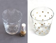 *cough* decorating glass with nail polish can actually be done! I will wreak havoc my sister's collection to try this!