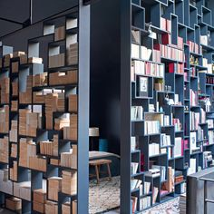 Une bibliothèque impressionnante