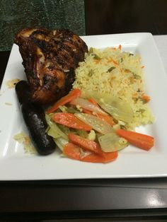 Pollo al grill con escabeche