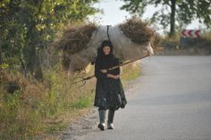 And she doesn't complain...  Breb - Maramures County - Romania