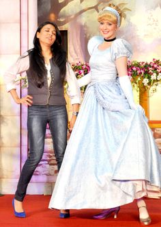 Mini Mathur with Disney Princess Cinderella #Style #Bollywood #Fashion #Beauty
