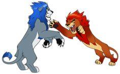 dragonweyrgirl Request by Nightrizer on DeviantArt Anime Lion, Cartoon Wolf, The Lion King 1994, Kingdom Hearts Fanart, Animal Sketches, Warrior Cats, Disney Fan Art, Cat Art, Lions