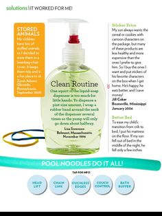 """Parents Magazine, """"It Worked For Me,"""" October 2011, Page 4"""