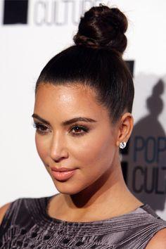 kim kardashian braided knot