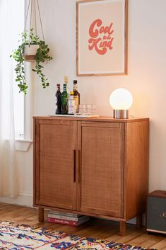 Home + Apartment: Furniture, Décor, + Entryway Cabinet, Filing Cabinet, Urban Outfitters, Living Room Cabinets, Apartment Furniture, Apartment Ideas, Furniture Sale, Furniture Shopping, Cane Furniture