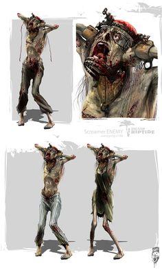DEAD ISLAND RIPTIDE CONCEPT ARTS on Behance