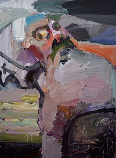 Ben Quilty | Self portrait, cloaked (2015) | Artsy