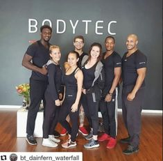 The team of Bodytec Waterfall and Dainfern during their Practical training with the team and Master Trainer Strength Training, Ems, Squats, Trainers, Waterfall, Exercise, Goals, Workout, Lifestyle