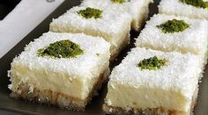Etimek Dessert Recipe – Sherbet Dessert Recipes – Yummy Recipes - My CMS Yummy Recipes, Cake Recipes, Dessert Recipes, Yummy Food, Turkish Sweets, Sorbet, Gula, Cupcakes, Middle Eastern Recipes