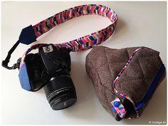 Eine herbstliche Kameratasche TheJo mit passendes Kameraband! :-)