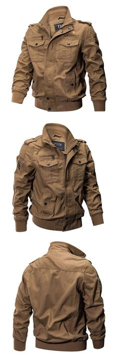 Season Jackets - Heres Stylish Military Jackets for You. Suits you perfectly. Being the garment of the season has many good things, but also requires some chameleonic ability to not saturate when it has just started. Plus Size Military Jacket, Military Jackets, Jackets For Women, Shop Jackets, Women's Jackets, Style Masculin, Men Closet, Men's Wardrobe, Color Khaki