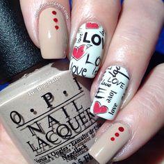 VALENTINE by gio_nails #nail #nails #nailart