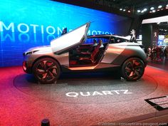 Peugeot Quartz - Mondial de l'auto 2014 – Paris