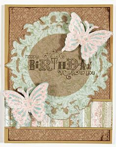 HOTP Birthday Butterfly card