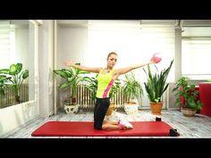 4 Dakikada Bacak Sıkılaştırma - YouTube