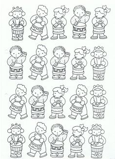 - Worksheets For Kids, Craft Activities For Kids, Music Crafts, Music And Movement, Music School, Piano Teaching, Music Party, Preschool Printables, Music For Kids