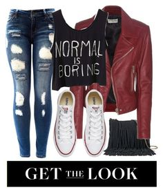 """Normal IS boring"" by jyfashion ❤ liked on Polyvore featuring SONOMA Goods for Life, Balenciaga, Converse, rockerchic and rockerstyle"